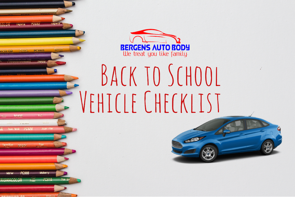 Bergens back to school vehicle graphic