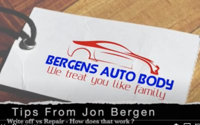 Jon's Auto Body Tip #7 – Repairs and Resale Value