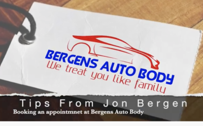 Jon's Auto Body Tip #9 – Bergens Booking Process Explained